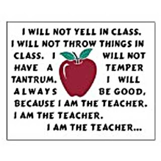 I am the teacher