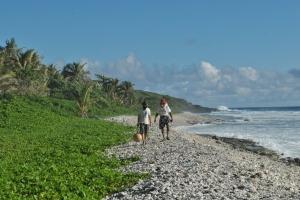 The Great Beards of Manu'a walk the Beach of Saua